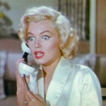 to this. (Marilyn Monroe in Gentlemen Prefer Blondes